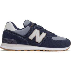 New Balance ML574SNJ tmavě modrá 7.5 - Pánská vycházková obuv