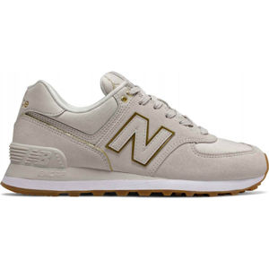 New Balance WL574SOA šedá 3.5 - Dámská volnočasová obuv
