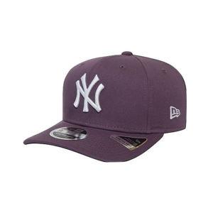 New Era 9FIFTY STRETCH SNAP MLB LEAGUE NEW YORK YANKEES fialová S/M - Pánská kšiltovka