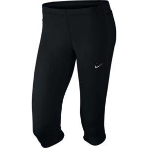 Nike TECH CAPRI černá XS - Dámské běžecké 3/4 kalhoty