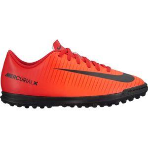 Nike MERCURIALX VOR III JR červená 4Y - Dětské turfové kopačky