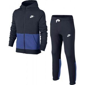 Nike B NSW TRK SUIT BF černá M - Dětská sportovní souprava