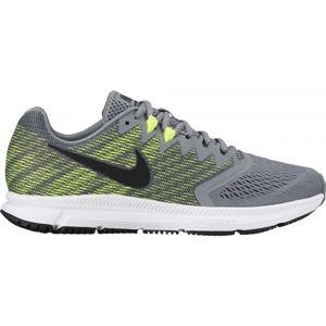 Nike AIR ZOOM SPAN 2 M šedá 10.5 - Pánská běžecká obuv