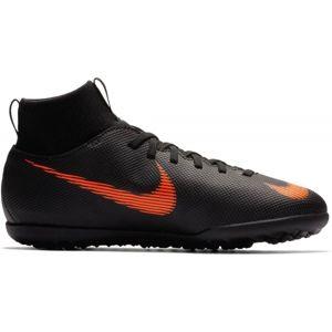 Nike JR SUPERFLYX 6 TF černá 2.5Y - Dětské turfy