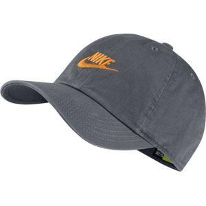 Nike H86 CAP FUTURA šedá  - Dětská sportovní kšiltovka