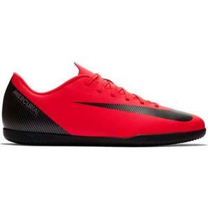 Nike CR7 VAPORX 12 CLUB IC červená 6.5 - Pánské sálovky