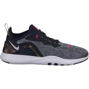 Nike FLEX TRAINER 9 PRNT W šedá 8 - Dámská tréninková obuv
