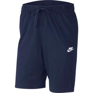 Nike SPORTSWEAR CLUB tmavě modrá XXL - Pánské kraťasy