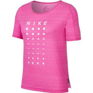 Nike ICON CLASH růžová XS - Dámské běžecké tričko