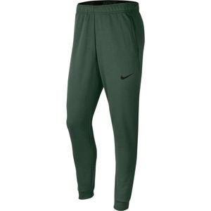 Nike DRI-FIT tmavě zelená S - Pánské tréninkové kalhoty