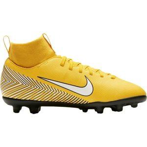 Nike JR SUPERFLY 6 CLUB NEYMAR MG žlutá 4Y - Dětské kopačky