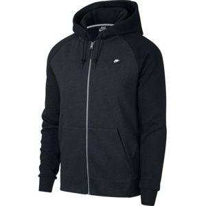 Nike NSW OPTIC HOODIE FZ černá 2xl - Pánská mikina