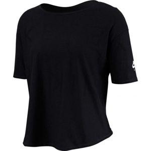 Nike SS TOP AIR černá S - Dámské tričko