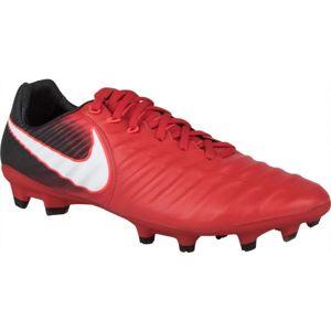 Nike TIEMPO LEGACY III FG červená 9 - Pánské kopačky