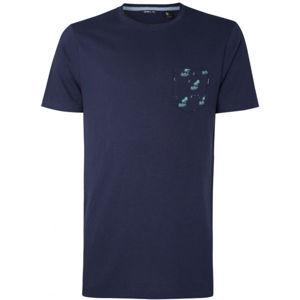 O'Neill LM PALM POCKET T-SHIRT tmavě modrá XL - Pánské tričko