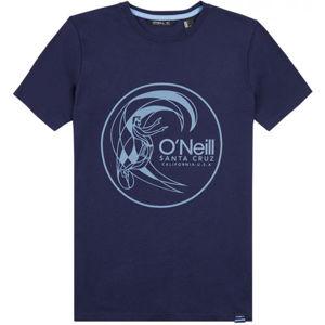 O'Neill LB CIRCLE SURFER T-SHIRT tmavě modrá 176 - Chlapecké tričko