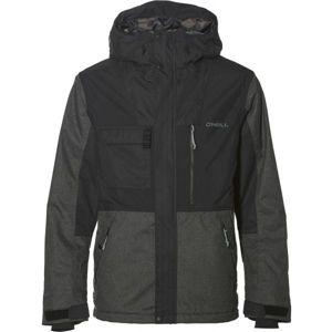 O'Neill PM HYBRID UTILITY JKT černá XL - Pánská snowboardová/lyžařská bunda