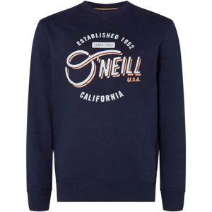 O'Neill LM MUGU CALI CREW tmavě modrá M - Pánská mikina