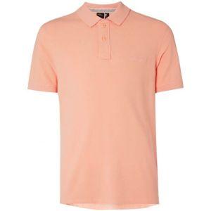 O'Neill LM PIQUE POLO oranžová M - Pánské polo tričko