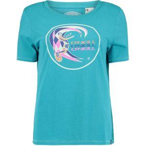 O'Neill LW REISSUE LOGO T-SHIRT modrá XS - Dámské tričko