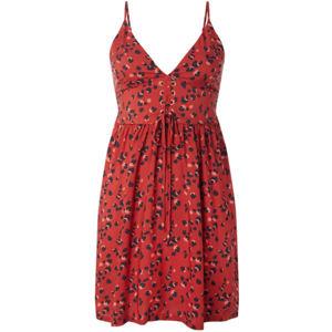 O'Neill LW TOLOWA STRAPPY DRESS červená L - Dámské šaty