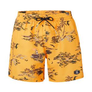O'Neill PM TROPICAL SHORTS žlutá XXL - Pánské šortky do vody