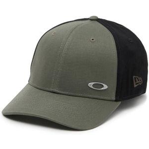 Oakley TINFOIL CAP tmavě zelená L/XL - Pánská kšiltovka