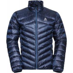 Odlo JACKET INSULATED COCOON N-THERMIC WARM tmavě modrá XL - Pánská péřová bunda