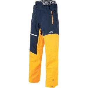 Picture ALPIN tmavě modrá M - Pánské zimní kalhoty