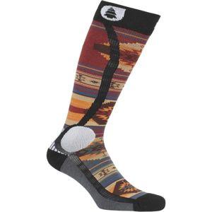 Picture WOOLING červená 44/45 - Lyžařské ponožky