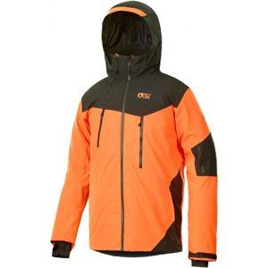 Picture DUNCAN oranžová XXL - Pánská lyžařská bunda