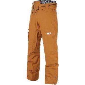 Picture UNDER hnědá L - Pánské zimní kalhoty