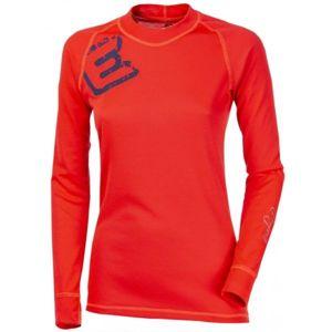 Progress DF NDRZ PRINT červená S - Dámské funkční tričko