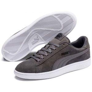 Puma SMASH V2 tmavě šedá 8.5 - Pánská volnočasová obuv