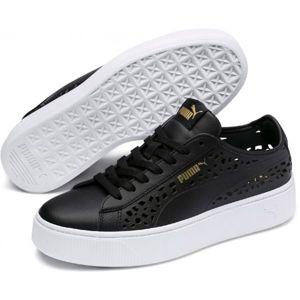 Puma VIKKY STACKED LASER CUT černá 6 - Dámské vycházkové boty