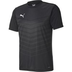 Puma FTBL PLAY GRAPHIC SHIRT  M - Pánské sportovní triko