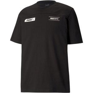 Puma NU-TILITY TEE černá S - Pánské sportovní triko