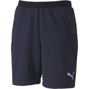 Puma TEAM FINAL 21 CASUALS SHORTS tmavě modrá L - Pánské kalhoty