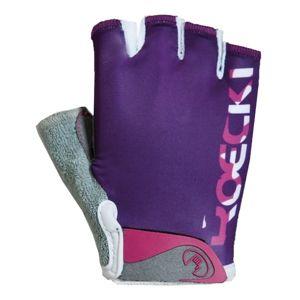 Roeckl TITO fialová 6 - Cyklistické rukavice