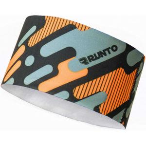 Runto NORA oranžová NS - Sportovní čelenka