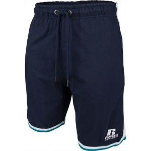 Russell Athletic SHORT BASKET tmavě modrá L - Pánské šortky