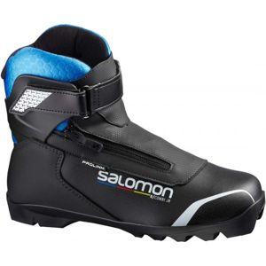 Salomon R/COMBI PROLINK JR černá 6.5 - Juniorská kombi obuv