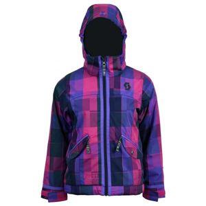 Scott CRYSTA G růžová XL - Dívčí lyžařská bunda