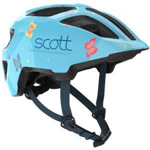 Scott SPUNTO KID modrá (46 - 52) - Dětská cyklistická helma