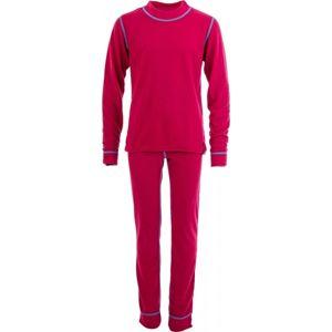 Sensor DOUBLE FACE G růžová 140 - Dívčí komplet funkčního prádla
