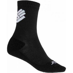 Sensor RACE MERINO BLK černá 39 - 42 - Ponožky
