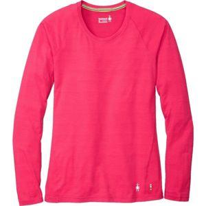 Smartwool MERINO 150 BASE PAT W růžová M - Dámské tričko