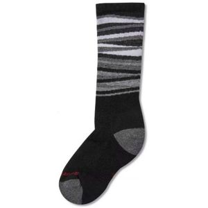 Smartwool WINTERSPORT STRIPE fialová S - Dětské zimní ponožky