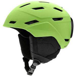 Smith MISSION zelená (55 - 59) - Pánská lyžařská helma
