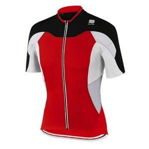 Sportful CRANK JERSEY červená XXL - Cyklistický dres